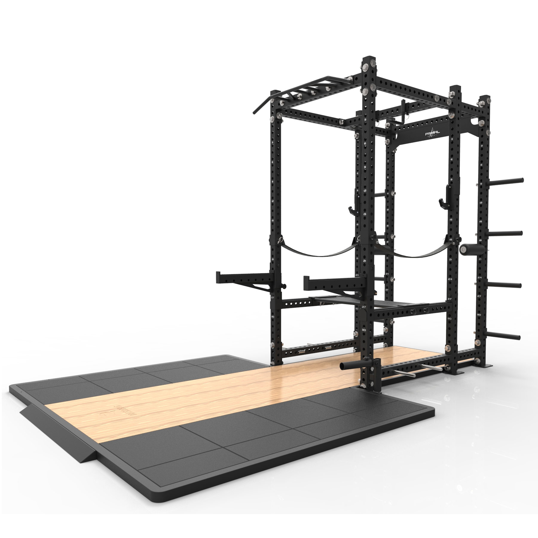Monster Commercial Performance Rack with platform